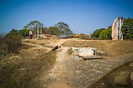 Hill A1 'Eliane 2' in Dien Bien Phu, Muong Thanh Valley, Dien Bien Province, Vietnam, Southeast Asia