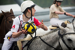 Van Herreweghe Axel, BEL, Princess Querda<br /> BK Horseball 2018<br /> © Sharon Vandeput<br /> 15:48:02