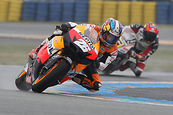 20.05.2012, Bugatti Grand Prix Race Circuit, Le mans, FRA, MotoGP, Monster Energy Grand Prix de France, im BildDani Pedrosa - Repsol Honda team // during Monster Energy Grand Prix de France of FIA MotoGP series at Bugatti Grand Prix Race Circuit, Le mans, France on 2012/05/20. EXPA Pictures © 2012, PhotoCredit: EXPA/ Insidefoto/ Semedia..***** ATTENTION - for AUT, SLO, CRO, SRB, SUI and SWE only *****