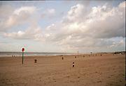 Beach on a cloudy day