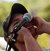 Coulterville, California, May 19, 2007..Coyote Howl..Photo by AL GOLUB/Golub Photography.