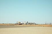 NIGER, Agadez airport
