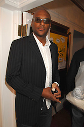 Actor COLIN SALMON at the Grand Classics presentation of Ken Loach's Oscar winning film 'Closely Observed Trains' held at the Electric Cinema, Portobello Road, London W11 on 9th July 2007.<br /><br />NON EXCLUSIVE - WORLD RIGHTS
