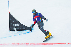 Andreas Prommegger (AUT) during parallel slalom FIS Snowboard Alpine World Championships 2021 on March 2nd 2021 on Rogla, Slovenia. Photo by Grega Valancic / Sportida