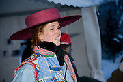 FIONA SCHERKAMP, Treasure Hunt in aid of the Knights of Malta,  St. Moritz, Switzerland. 23 January 2009 *** Local Caption *** -DO NOT ARCHIVE-© Copyright Photograph by Dafydd Jones. 248 Clapham Rd. London SW9 0PZ. Tel 0207 820 0771. www.dafjones.com.<br /> FIONA SCHERKAMP, Treasure Hunt in aid of the Knights of Malta,  St. Moritz, Switzerland. 23 January 2009
