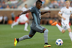 July 14, 2018 - Minneapolis, MN, USA - Minneapolis, MN - Saturday, July 14, 2018: Minnesota United FC played Real Salt Lake in a Major League Soccer (MLS) game at TCF Bank Stadium Final score Minnesota United 3, Salt Lake 2 (Credit Image: © Jeremy Olson/ISIPhotos via ZUMA Wire)
