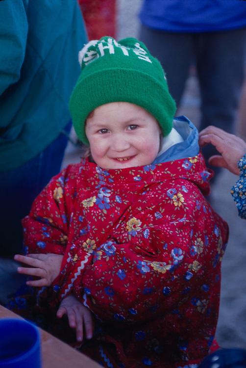 Young child, Port Town of Lavrentiya, Chukotsk Peninsula, NE Russia, 1992