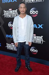 Marvel's Inhumans - The First Chapter held at the Universal CityWalk. 28 Aug 2017 Pictured: Ken Leung. Photo credit: O'Connor/AFF-USA.com / MEGA TheMegaAgency.com +1 888 505 6342