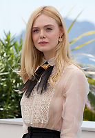 Jury member and Actress Elle Fanning at the Jury photo call at the 72nd Cannes Film Festival, Tuesday 14th May 2019, Cannes, France. Photo credit: Doreen Kennedy