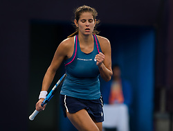 October 1, 2018 - Julia Goerges of Germany in action during her second-round match at the 2018 China Open WTA Premier Mandatory tennis tournament (Credit Image: © AFP7 via ZUMA Wire)
