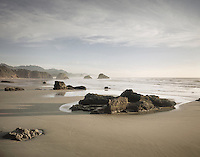 Crescent Beach Ecola State Park Oregon USA State
