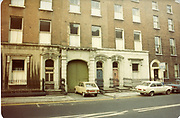 Old amateur photos of Dublin streets churches, cars, lanes, roads, shops schools, hospitals, Streetscape views are hard to come by while the quality is not always the best in this collection they do capture Dublin streets not often available and have seen a lot of change since photos were taken Holles St, Baggot St O'Dwyers Pub Mount St Doorways, St Marks ChurchFenian St Gaffneys Pub, Merion Square Glocester St, 1985