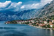 Ccoastal town of Kotor, Bay of Kotor, Montenegro