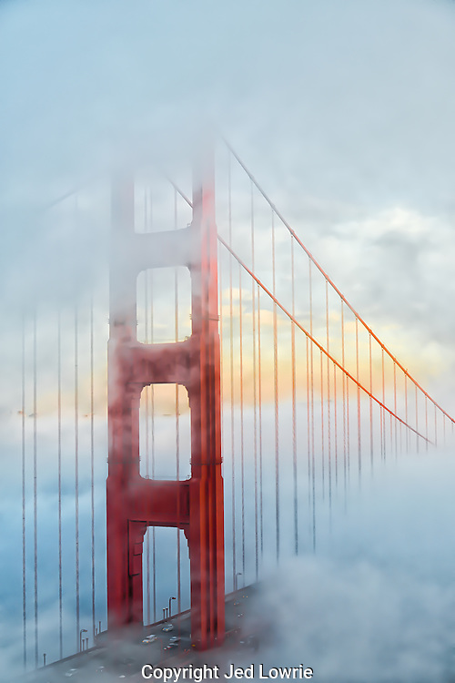 A cloudy day in the bay area, about as reliable as the sunrise.  Catching the moment when the clouds break while sitting in the blistering wind, not so reliable.