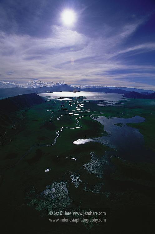 Paniai Lakes, Papua, Indonesia.