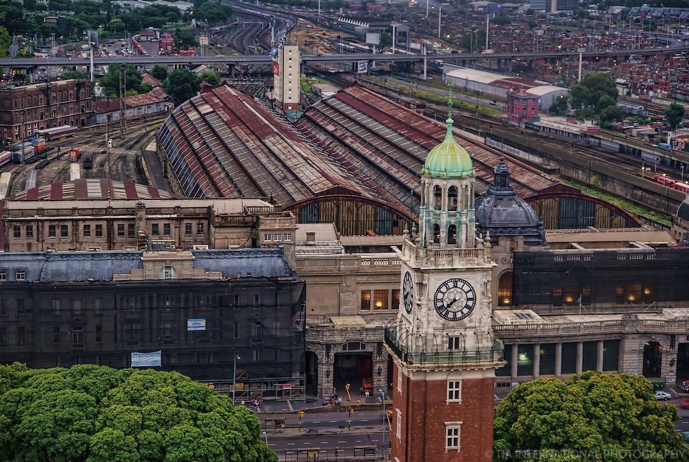 Estacion Retiro & Torre de Los Ingleses