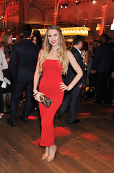 ZOE SALMON at One Night Changes Everything - a fundraising evening for the 2013 Comic Relief Campaign held at The Royal Opera House, London on 28th February 2013.