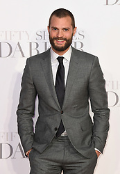 Jamie Dornan arriving for the Fifty Shades Darker European Premiere held at Odeon Leicester Square, London. Picture date: Thursday February 9, 2017