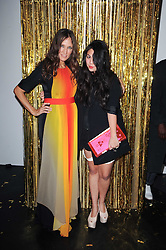 Left to right, LULU KENNEDY and SIMONE ROCHA at a party to celebrate the launch of Lulu & Co held at the Fifth Floor Cafe, Harvey Nichols, Knightsbridge, London on 21st October 2010.