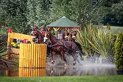 Weber Chester (USA) - Boris W, Boy W, Para, Splash, Uniek<br /> Wohnwelt Pallen Preis<br /> Weltfest des Pferdesports CHIO Aachen 2014<br /> © Hippo Foto - Dirk Caremans