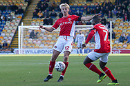 George Lapslie of Charlton Athletic (32) controls the ball during the The FA Cup match between Mansfield Town and Charlton Athletic at the One Call Stadium, Mansfield, England on 11 November 2018.