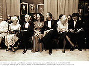 Ed Victor and his wife Carol Ryan. Ed Victor party at the Garrick Club. London. 31 October 1989<br />© Copyright Photograph by Dafydd Jones<br />66 Stockwell Park Rd. London SW9 0DA<br />Tel 0171 733 0108