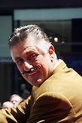 Rollie Fingers at the Major League Baseball All-Stars and 49 Hall of Famers ride up Sixth Avenue in All Star-Game Red Carpet Parade Presented by Chevy on July 15, 2008