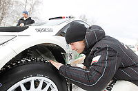 MOTORSPORT - WORLD RALLY CHAMPIONSHIP 2011 - RALLY SWEDEN / RALLYE DE SUEDE - 10 TO 13/02/2011 - KARLSTAD (SWE) - PHOTO : FRANCOIS BAUDIN /  DPPI - <br /> OSTBERG MADS - FORD  FIESTA RS WRC - AMBIANCE PORTRAIT