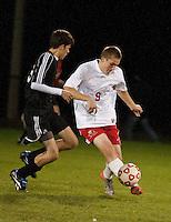 Varsity Soccer Laconia versus Kennett October 12, 2010.