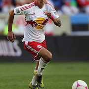 Tim Cahill, New York Red Bulls, in action during the New York Red Bulls V Chicago Fire Major League Soccer regular season match at Red Bull Arena, Harrison. New Jersey. USA. 6th October 2012. Photo Tim Clayton
