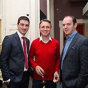 08.12.2016                   <br /> Pictured at the launch of the Shannon Airport Christmas Racing Festival at Hunt Museum were, Liam Aherne, Greg Walker and David McManus. Picture: Alan Place
