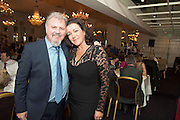Repro free: At the Gorta Self Help Africa annual Ball at hotel Meyrick, Galway were Ronan Scully who organised the event and  Yvonne Lally of Drom East . Photo:Andrew Downes