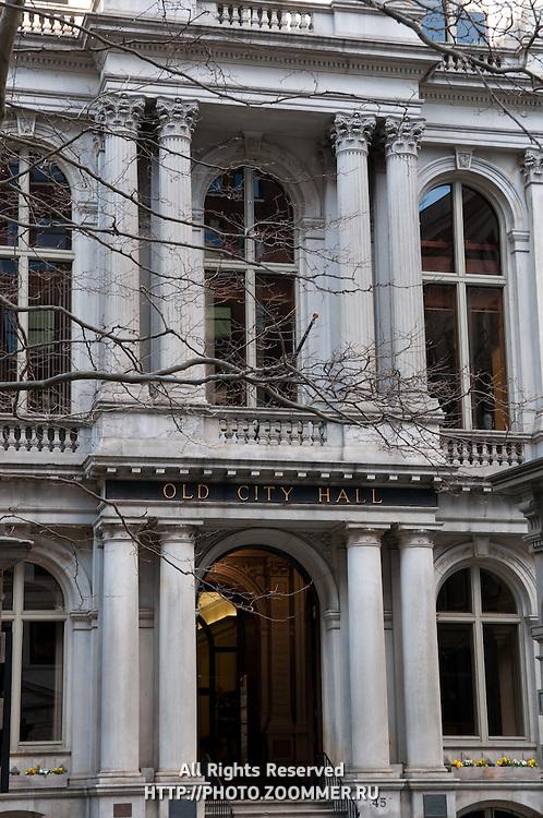 Old City Hall building, Boston, MA, USA