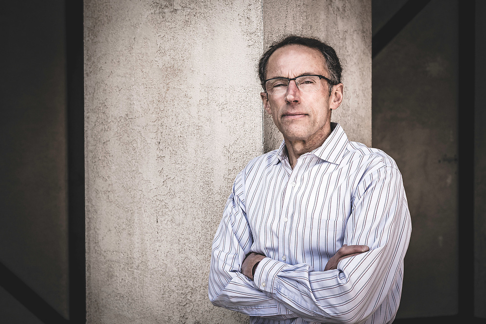 Black Diamond Equipment CEO, Peter Metcalf, Salt Lake City.