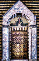 """Holy Door of the Church of Saint Agnes of Montepulciano""... <br />