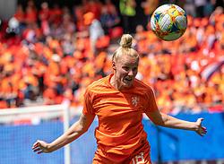 15-06-2019 FRA: Netherlands - Cameroon, Valenciennes<br /> FIFA Women's World Cup France group E match between Netherlands and Cameroon at Stade du Hainaut / Danique Kerkdijk #18 of the Netherlands