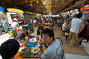 Lunchtime at Maxwell Road Food Centre (hawker centre).