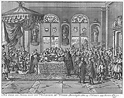 Henry IV had been a Huguenot but agreed to conform to the Roman Catholic church in order to become king.  At the time of the edict, he was a French Catholic King.  The French Kings were from a long line of Kings who viewed their authority as a Devine Right.  in 1598, he enacted the Edict of Nantes. The Edict marked the end of French Wars of Religion (1562-1598) and integrated the various religious provisions of this series of broken treaties and provided a number of additional ones.