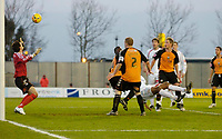 Photo: Leigh Quinnell.<br /> Milton Keynes Dons v Barnet. Coca Cola League 2. 20/01/2007. MK Dons Clive Platt(hidden) scores a second goal for  his team.