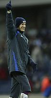Photo: Aidan Ellis.<br /> Blackburn Rovers v Arsenal. The Barclays Premiership. 25/02/2006.<br /> Blackburn goal scorer Morten Gamst Pedersen enjoys victory at the end