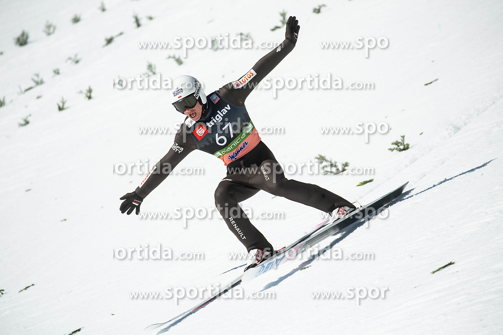 Piotr Zyla (POL) during the Trial Round of the Ski Flying Hill Individual Competition at Day 1 of FIS Ski Jumping World Cup Final 2019, on March 21, 2019 in Planica, Slovenia. Photo by Vid Ponikvar / Sportida
