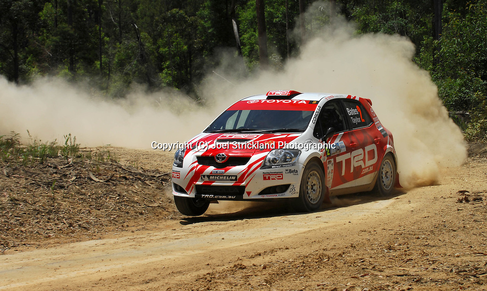 Neal Bates & Coral Taylor .Motorsport-Rally/2008 Coffs Coast Rally.Heat 1.Coffs Harbour, NSW.15th of November 2008.(C) Joel Strickland Photographics