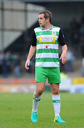 Matthew Dolan of Yeovil Town looks on- Mandatory by-line: Nizaam Jones/JMP - 29/10/2016/ - FOOTBALL - Hush Park - Yeovil, England - Yeovil Town v Grimsby Town - Sky Bet League Two