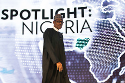 NEW YORK, NEW YORK - SEPTEMBER 21: President of Nigeria Muhammadu Buhari arrives to speak at the U.S.-Africa Business Forum at the Plaza Hotel, September 21, 2016 in New York City. The forum is focused on trade and investment opportunities on the African continent for African heads of government and American business leaders.<br /> Photo by Drew Angerer/Pool/ABACAPRESS.COM