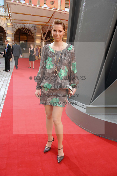 PETRINA KHASHOGGI at the Royal Academy of Art Summer Exhibition Preview Party on 4th June 2008.<br /><br />NON EXCLUSIVE - WORLD RIGHTS