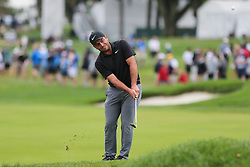 September 8, 2018 - Newtown Square, Pennsylvania, United States - Francesco Molinari chips on to the 16th green during the third round of the 2018 BMW Championship. (Credit Image: © Debby Wong/ZUMA Wire)