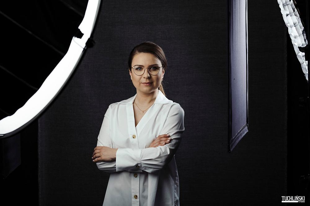 Warszawa, Polska; 27.03.2019r. Katarzyna Łodygowska prawnik prawa pracy, blogerka. prowadzi blog Matka Prawniczka.<br /> Fot. Adam Tuchliński dla Forbes Women