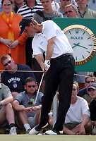 Thomas Bjorn (Denmark) The Open Golf Championship, Royal St.Georges, Sandwich, Day 4, 20/07/2003. Credit: Colorsport / Matthew Impey DIGITAL FILE ONLY