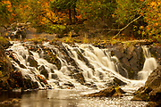 Upson Falls, Potato River, Upsons, Wisconsin, natural nature peaceful tranquil tranquility water waterfall