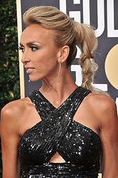 Giuliana Rancic at the 75th Golden Globe Awards held at the Beverly Hilton in Beverly Hills, CA on January 7, 2018.<br /><br />(Photo by Sthanlee Mirador)